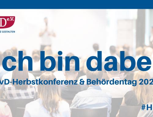 """Save the date – BvD-Herbstkonferenz 2021 – """"Wirtschaft trifft Aufsicht"""""""