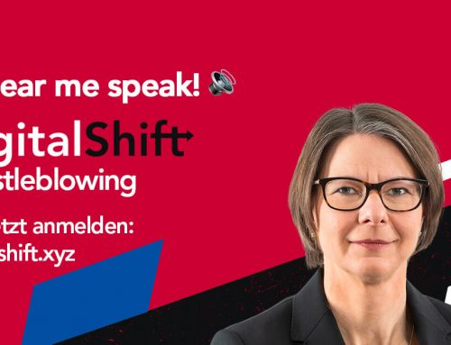 Save the date: DigitalShift2021 Whistleblowing